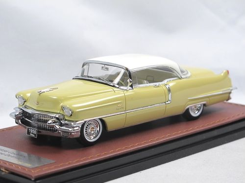 GLM 1956 Cadillac Coupe DeVille Goddess Gold 1/43