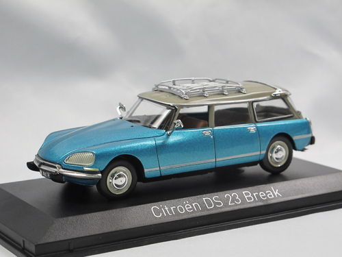 Norev 1974 Citroen DS 23 Break Delta Blue 1/43