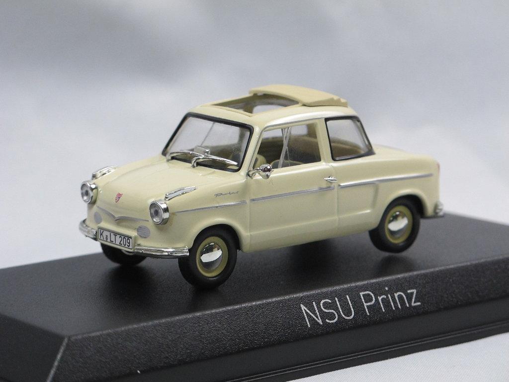 NOREV 1:43 NSU Prinz II beige 1959