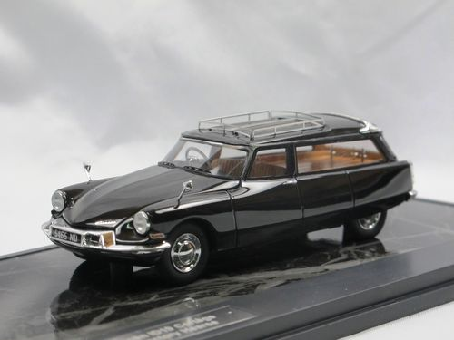 Matrix 1962 Citroen UK ID19 Cortège Hearse black 1/43