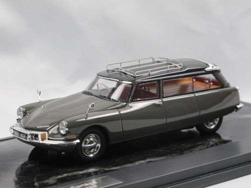 Matrix 1962 Citroen UK ID19 Cortège Hearse grey 1/43