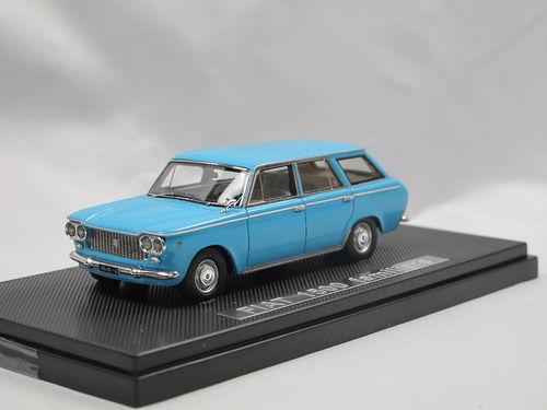 Fiat 1500 Cabrio 1959 blau Modellauto Norev 1:43