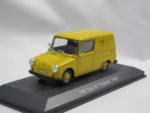 Atlas 1965 VW Typ 147 Fridolin Deutsche Bundespost 1/43