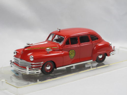 Vitesse 1947 Chrysler Windsor San Francisco Fire Dept. 1/43