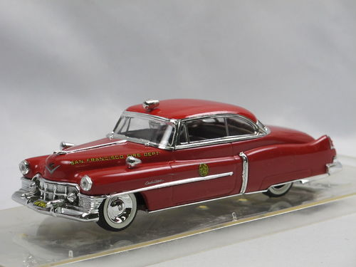 Vitesse 1950 Cadillac Series 62 San Francisco Fire Dept. 1/43