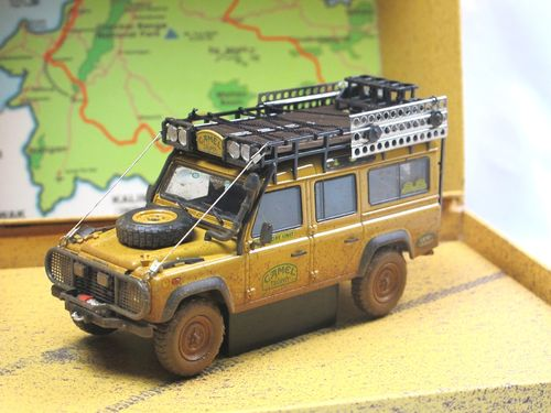 Almost Real Land Rover Defender Camel Trophy 1993 1/43