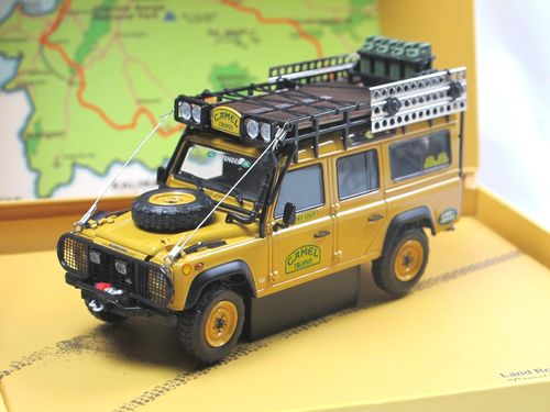 Almost Real Land Rover Defender 110 Camel Trophy 1993 1/43