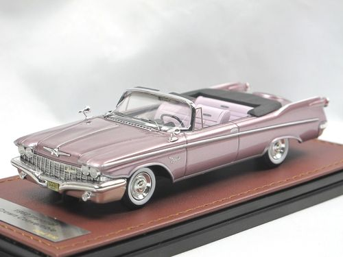 GLM 1960 Imperial Crown Convertible Dusk Mauve Poly 1/43
