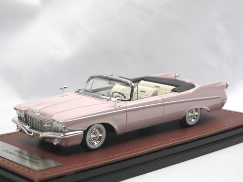 GLM 1960 Imperial Crown Convertible Dawn Mauve 1/43