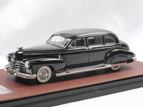 GLM 1947 Cadillac Series 75 Fleetwood Limousine schwarz 1/43