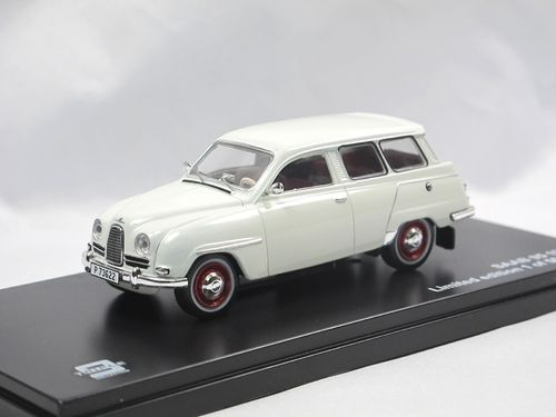 Triple9 Collection 1961 Saab 95 Kombi weiß 1/43