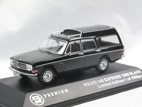 Triple9 Collection 1969 Volvo 145 Express schwarz 1/43