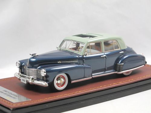 GLM 1941 Cadillac Series 60 Special blue 1/43