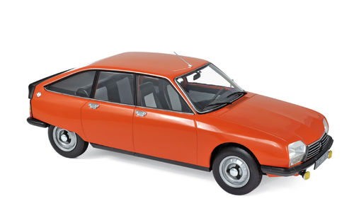 Norev 1978 Citroen GS X2 Ibiza Orange 1/18