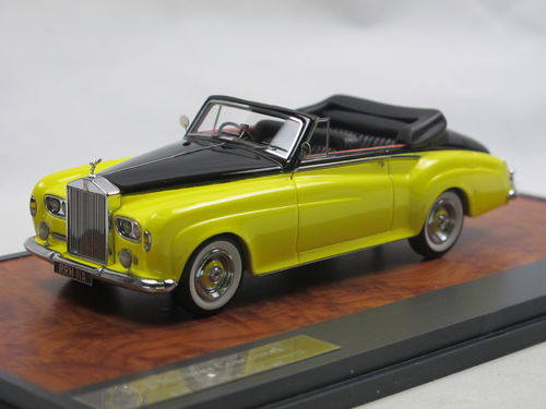 Matrix 1963 Rolls Royce Silver Cloud DHC by Mulliner 1/43