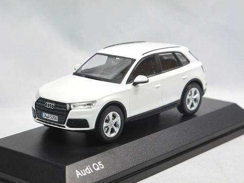 iScale 2016 Audi Q5 Ibisweiß 1/43