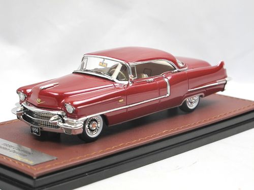 GLM 1956 Cadillac Sedan DeVille Mandan Red 1/43