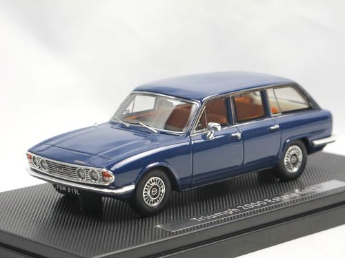 Silas Models 1969 Triumph 2000 MKII Estate blue 1/43