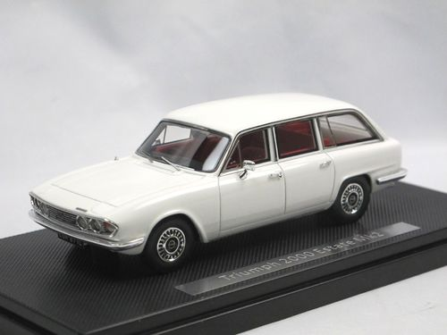 Silas Models 1969 Triumph 2000 MKII Estate white 1/43