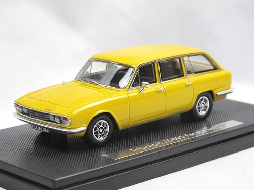 Silas Models 1974 Triumph 2500 S MKII Estate yellow 1/43