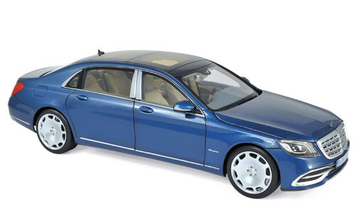Norev 2018 Mercedes-Maybach S 650 blau metallic 1/18