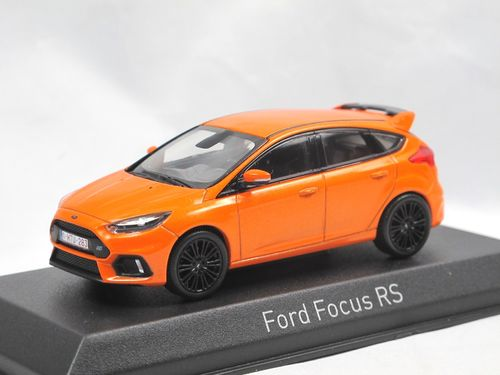 Norev 2018 Ford Focus RS orange metallic 1/43