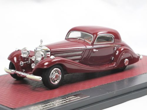Matrix 1936 Mercedes-Benz 540K Special Coupe #130944 rot 1/43