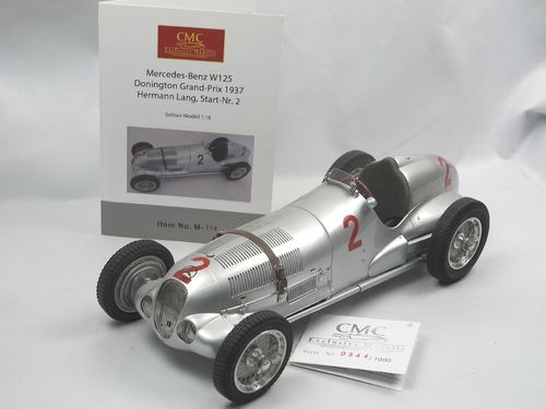 CMC Mercedes-Benz W125 Donington GP 1937 Lang #2 1/18