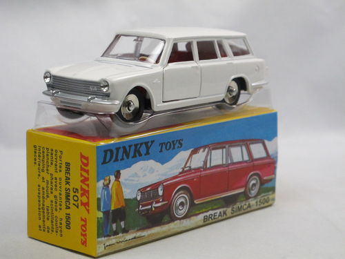 Atlas Dinky Toys 1964 Simca 1500 Break Kombi weiß 1/43