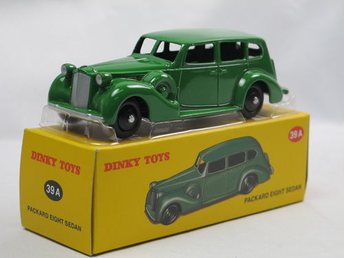 Atlas Dinky Toys 1933 Packard Eight Sedan grün 1/43
