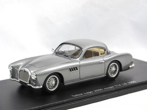 Spark 1955 Talbot Lago 2500 Coupe T14 LS grau 1/43