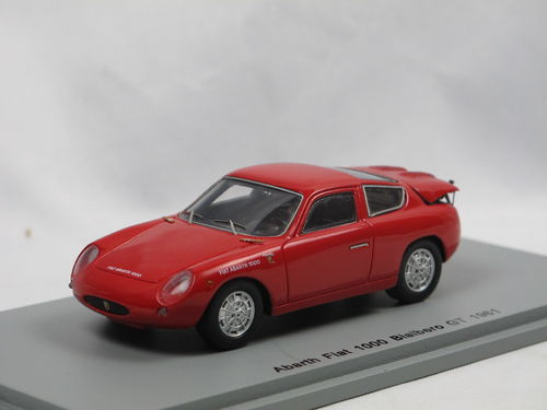Spark 1961 Fiat Abarth 1000 Bialbero GT rot 1/43