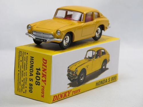 Atlas Dinky Toys 1967 Honda S800 Coupe gelb 1/43