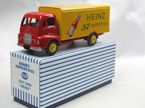 Atlas Dinky Toys 920 Guy Warrier Van HEINZ