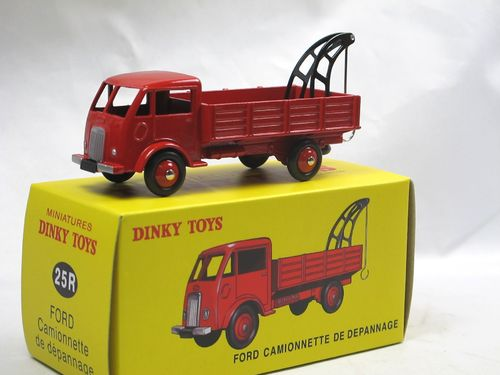 Atlas Dinky Toys 25 R Ford Depanneuse Abschleppwagen