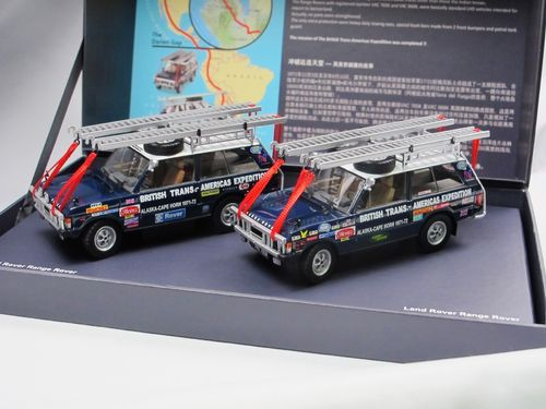 Range Rover British Trans-Americas Expedition 1/43