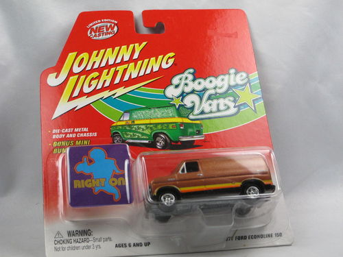 Johnny Lightning Boogie Vans 1977 Ford Econoline 150 1/64
