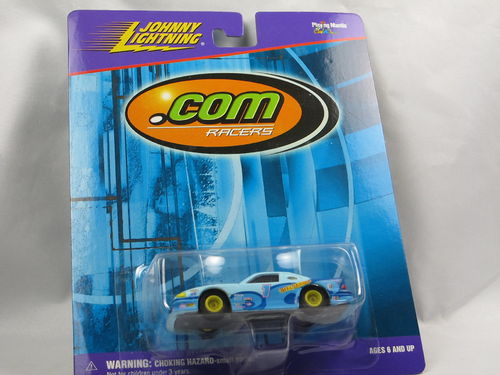 Johnny Lightning .com Racers Ford Mustang Bikini.com 1/64