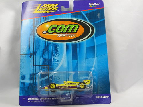 Johnny Lightning .com Racers Indy Race Car YAHOO 1/64