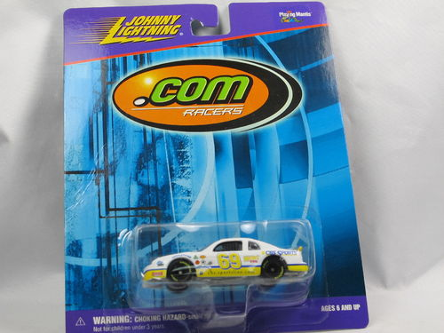 Johnny Lightning .com Racers CBS SPORTS #69 1/64
