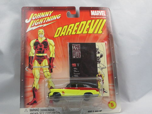 Johnny Lightning Marvel Daredevil Bumongous Buick 1/64