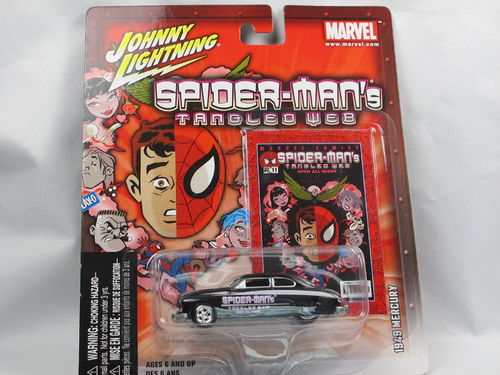 Johnny Lightning Marvel Spider-Man's Tangled Web 1/64