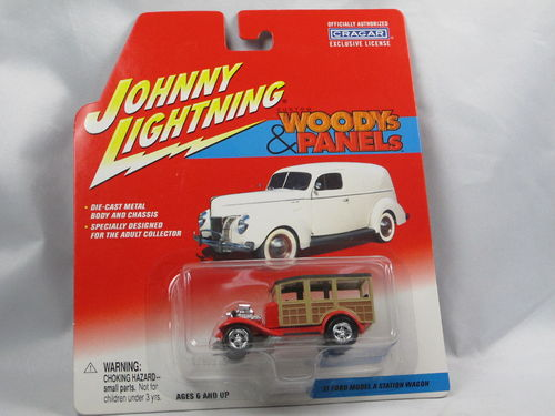 Johnny Lightning Custom Woodys 1931 Ford Model A Station 1/64