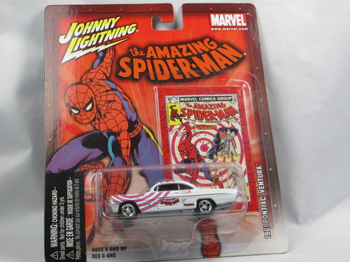 Johnny Lightning Marvel Amazing Spider-Man Pontiac Ventura 1/64