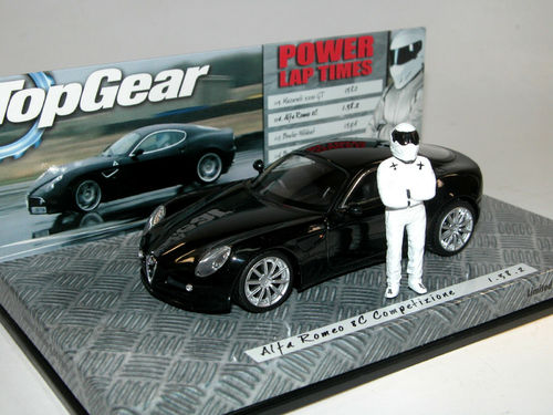 Minichamps 2007 Alfa Romeo 8C BBC Top Gear 1/43