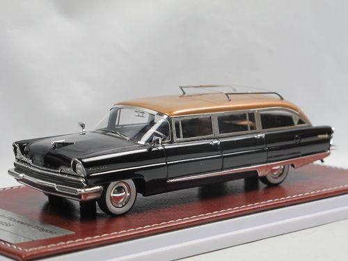 GiM 1956 Lincoln Pioneer Station Wagon Black/Copper 1/43