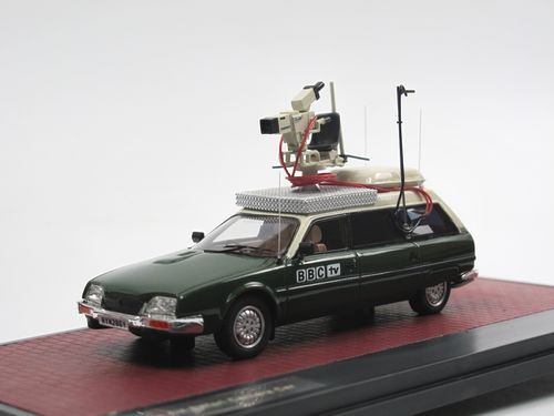 Matrix 1982 Citroen CX Safari BBC TV Kamerawagen 1/43