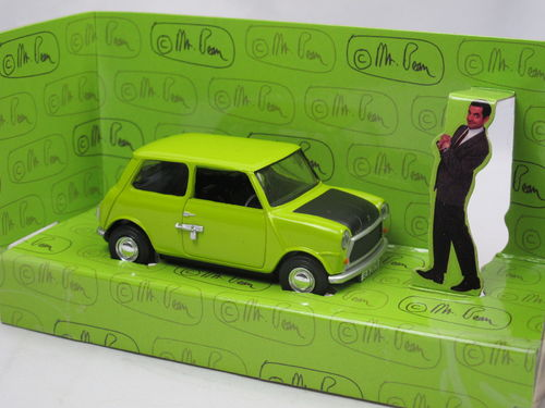 Corgi Mr. Bean Mini Lime Green ca. 1/36