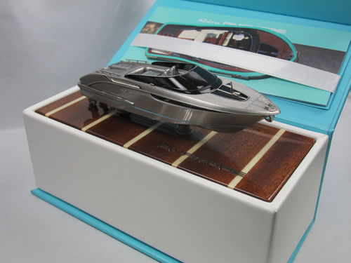 Riva Rivamare White Metal Model Boat by Brooklin Models