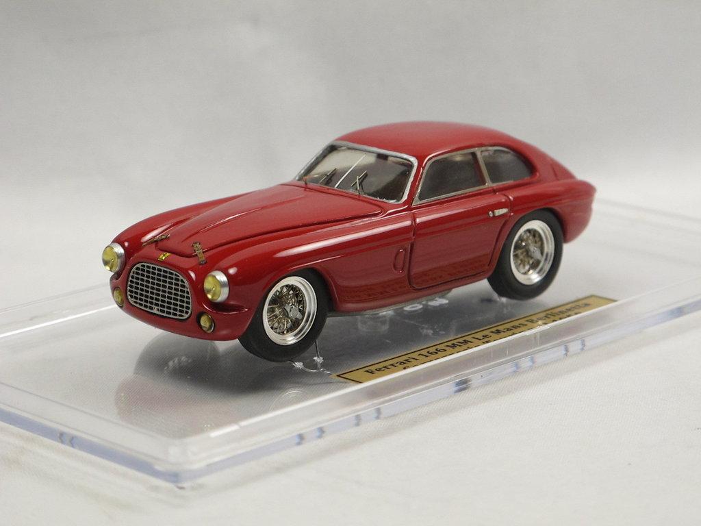 Tameo 1950 Ferrari 166 Mm Berlinetta Touring Red Kit Built 1 43